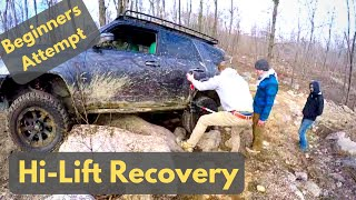 4Runner Recovery using HiLift Jack