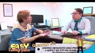 Steps to get Business Permit in DTI (Part 1)