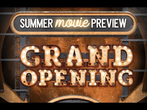 PHOTOSHOP TUTORIAL | How To Design A Summer Movie Preview Poster