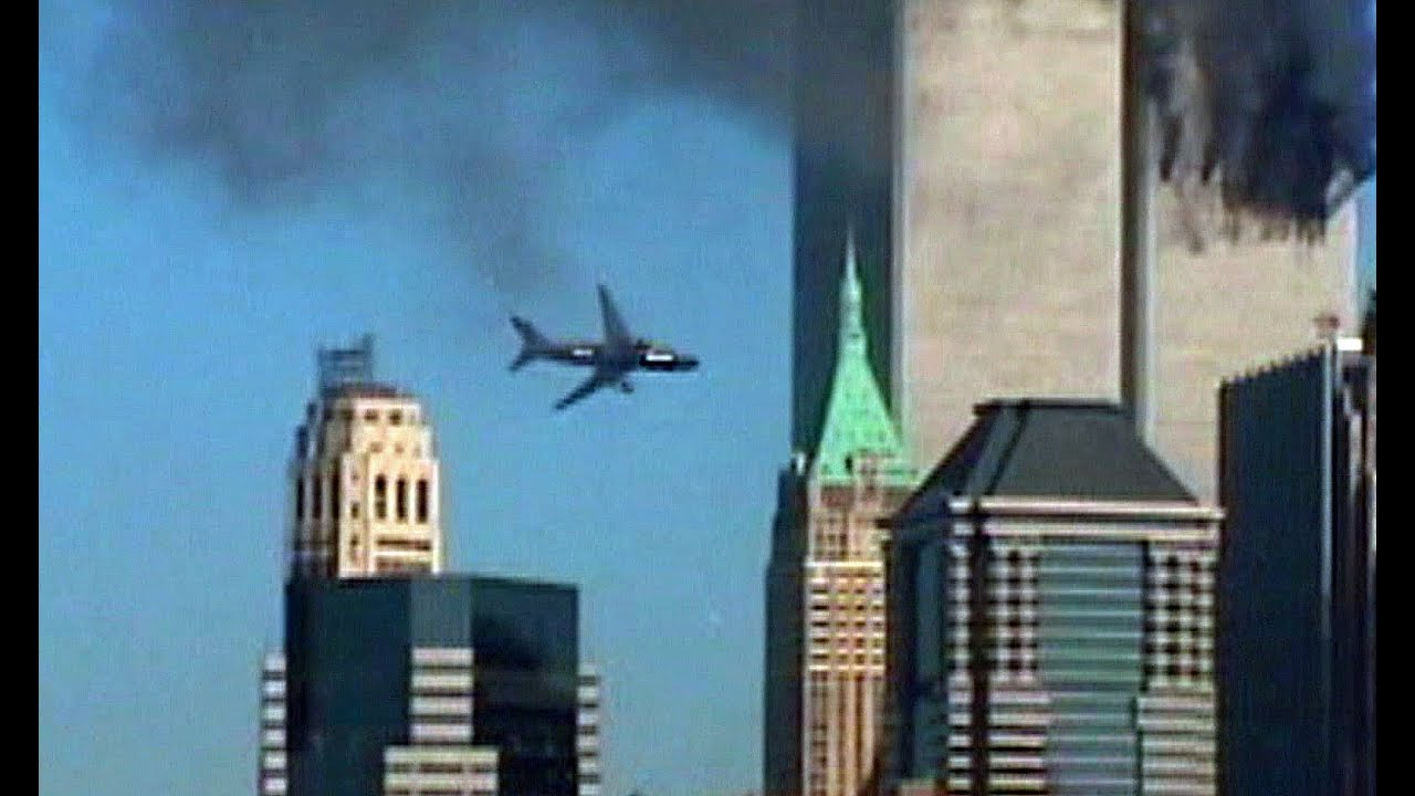 Hijacked Planes Smash Into World Trade Center Youtube