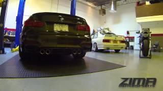 2015 BMW M3 Zima Motorsports DownPipes | BMW Performance Exhaust