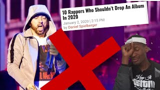 """No Album For Eminem In 2020 Please"" Hip HopDx pleads."