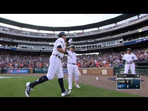 CHW@DET: Tigers beat White Sox, 15-5