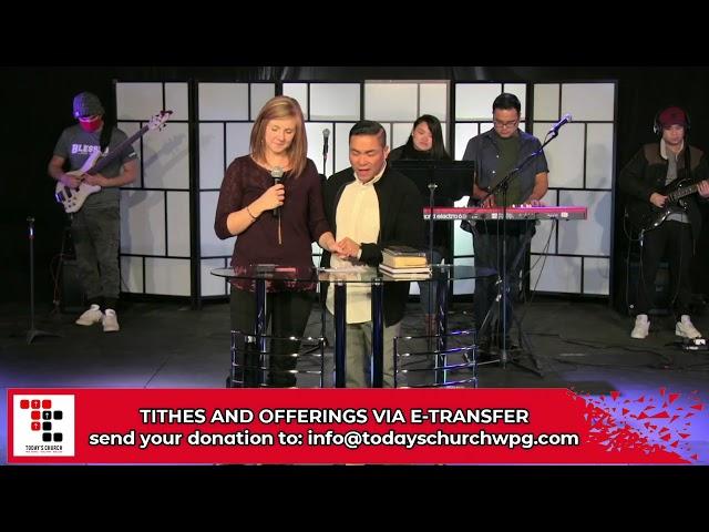 I AM READY! (Part 1) | Danrey Amoyo | Today's Church Online (Jan 3, 2021)