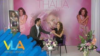 ¡Pato anda en las nubes! Entrevistó a Thalía y perdió el suelo...