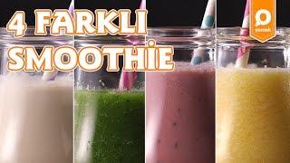 4 Farklı Smoothie Tarifi - Onedio Yemek - İçecek Tarifi