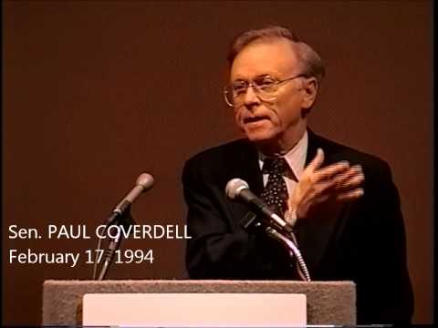 Sen. Paul Coverdell's Blistering Attack on Clinton Care