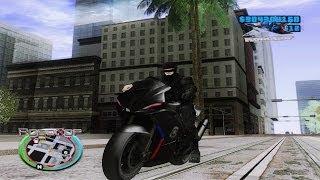robocop 2014 moto police black detroid teste GTA SAN ANDREAS