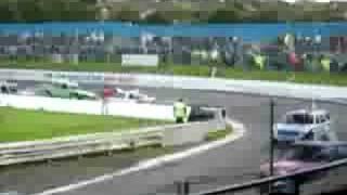 Banger Scottish Championship 16/08/08 (Cowdenbeath Racewall)