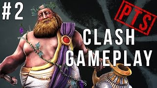 Smite PTS Clash #2: Bacchus Gameplay