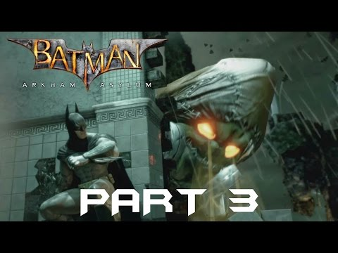 Batman Return to Arkham Asylum part 3 (Scarecrow Stop being  A Cunt)