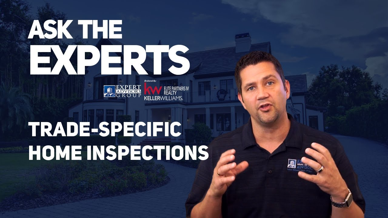 Ask the Experts 09: Home Inspections - Trade Specific Inspections - Jon Wanberg