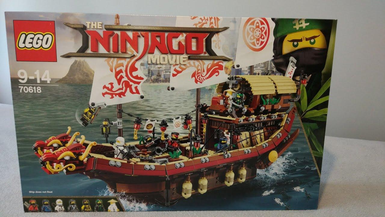 The Lego Ninjago Movie 70618 Perła Przeznaczenia Unboxing Youtube