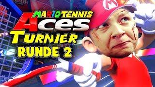 Der Kampf geht weiter! - Mario Tennis Aces Turnier - Runde 2 gegen fisHc0p und Gorg