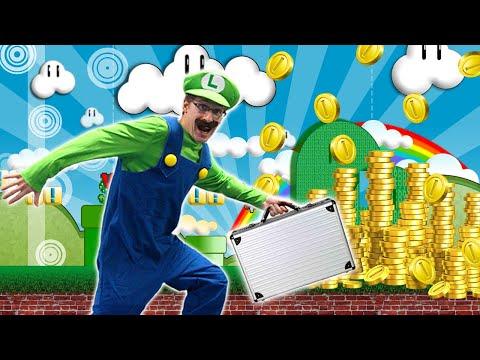 How Luigi Makes Money in Real Life - Super Mario Bros