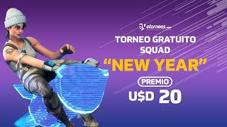 """FORTNITE TORNEO """"NEW YEAR"""" FREE PRIZE USD 20!"""