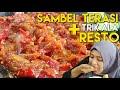 SAMBAL TERASI + TRIK ALA RESTO NAMPOOOLLL!