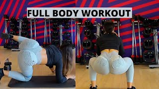 Full Body Workout - Weight Lifting for Beginners