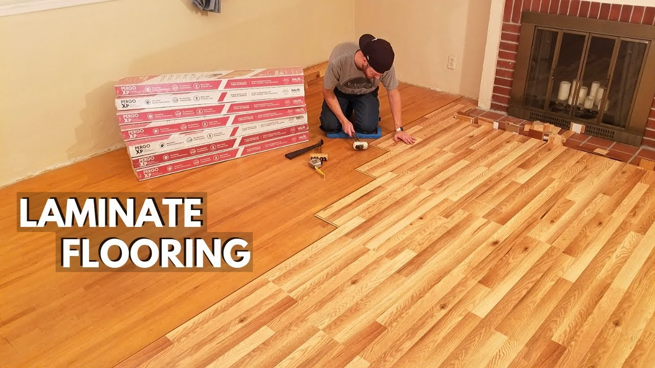 How To Install Laminate Flooring, How To Lay Laminate Flooring For Beginners