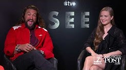 tv+ Jason Mamoa and Hera Hilmar interview for new streaming show SEE