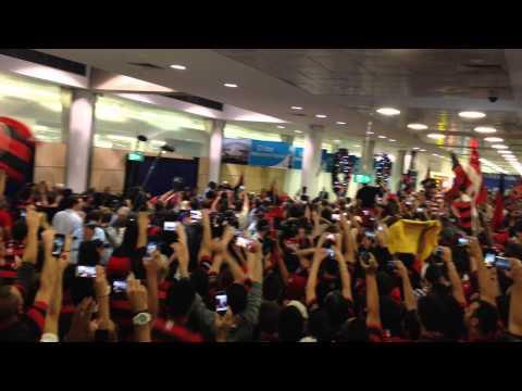Western Sydney Wanderers Arrival @ Sydney International Airport