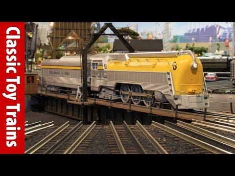 William Johnston's O gauge layout   Classic Toy Trains magazine