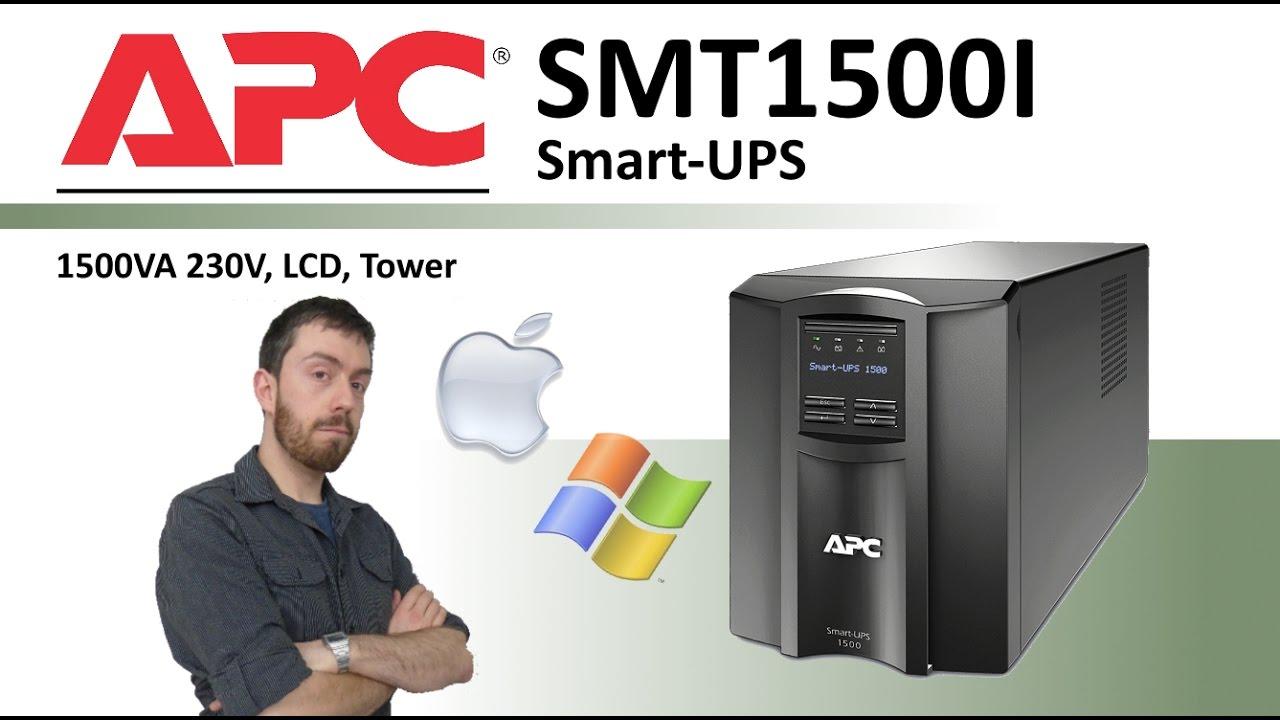 the apc smart ups smt1500i 1500va 230v ups for 4 6 and 8. Black Bedroom Furniture Sets. Home Design Ideas