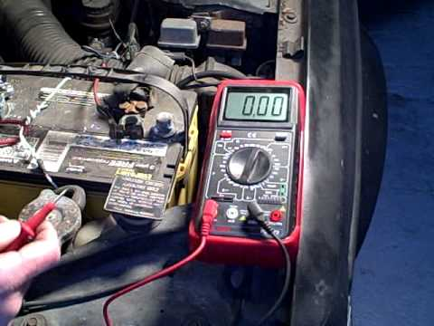 hqdefault testing for current drain that runs down car battery youtube test car fuse box multimeter at edmiracle.co