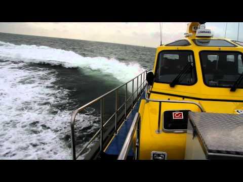 SIMA CHARTERS Callisto Maassluis shows it's capacities at the North Sea
