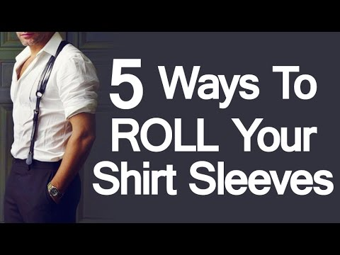 ec7c16a6b79 5 Ways To Roll Up Shirt Sleeves
