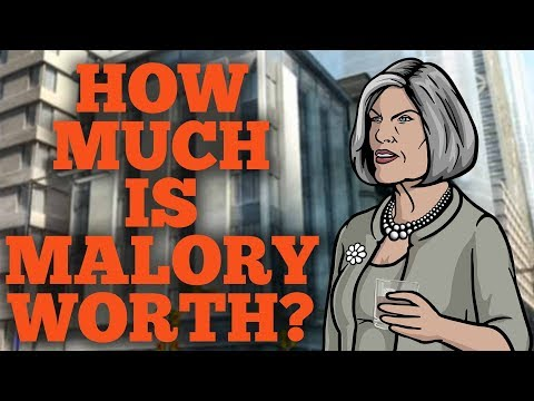 How Much is Malory Archer Worth?