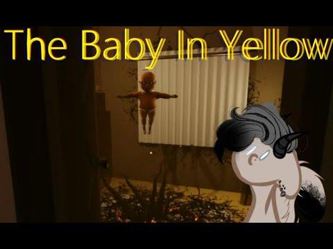 The Baby In Yellow - ОБНОВА В ИГРЕ - Прохождение