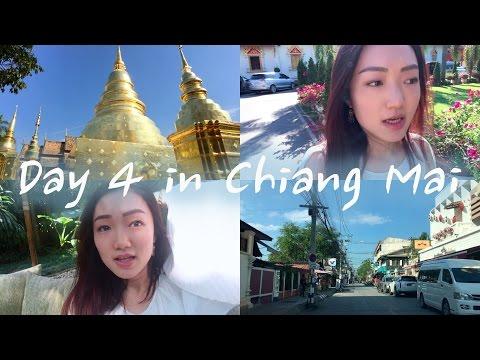 Day 4 In Chiang Mai | Oasis Spa & Phra Singh Temple & Bath Talk