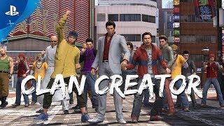 Yakuza 6: The Song of Life - Clan Creator Trailer | PS4 thumbnail