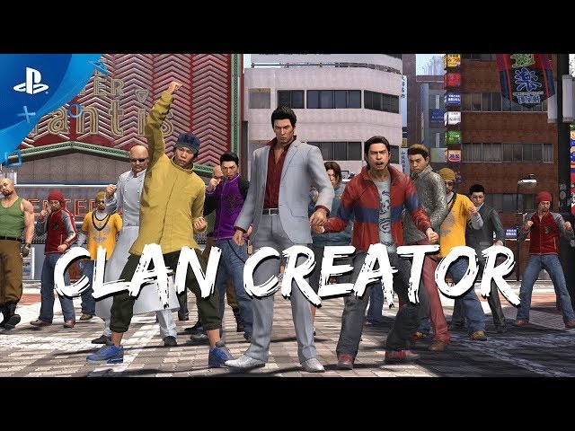 Yakuza 6: The Song of Life - Clan Creator Trailer | PS4
