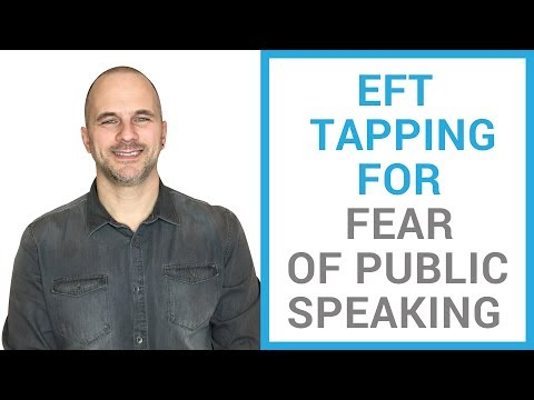 EFT tapping for fear of public speaking