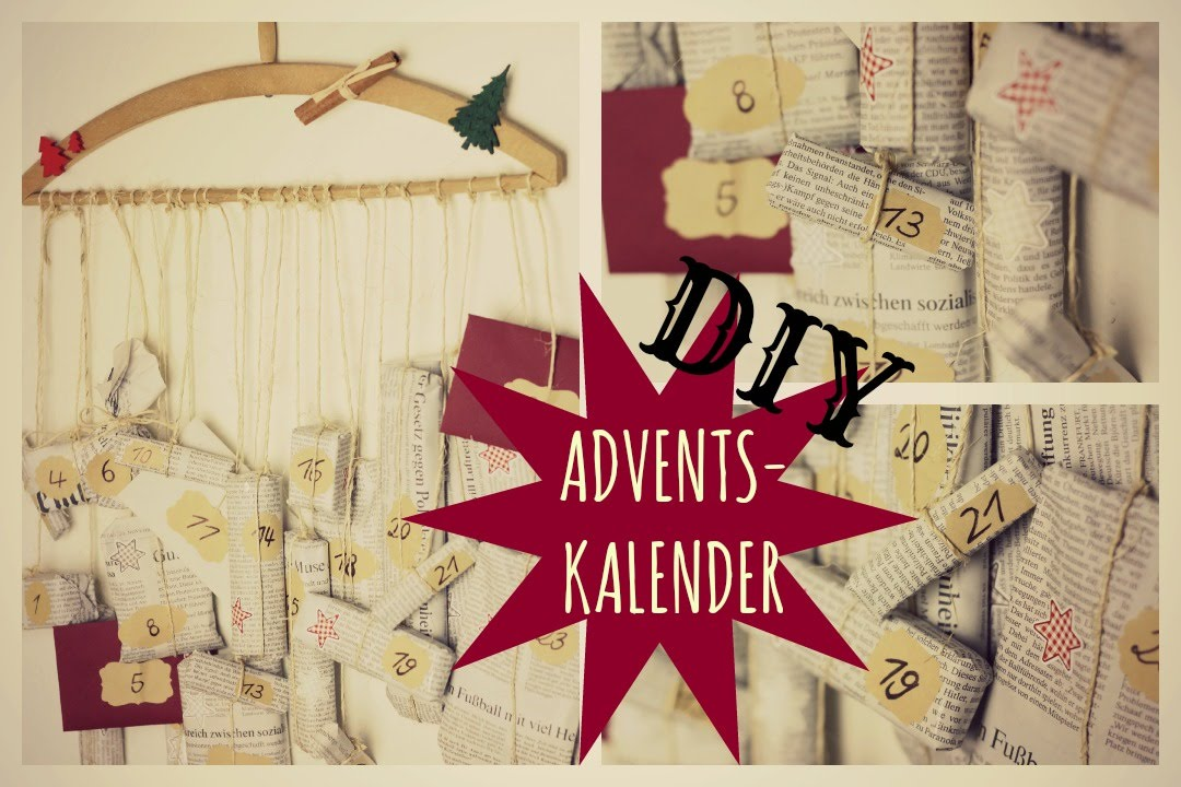 diy adventskalender f r den freund community info youtube. Black Bedroom Furniture Sets. Home Design Ideas