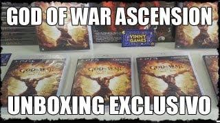 Unboxing God Of War Ascension - Vinny Games
