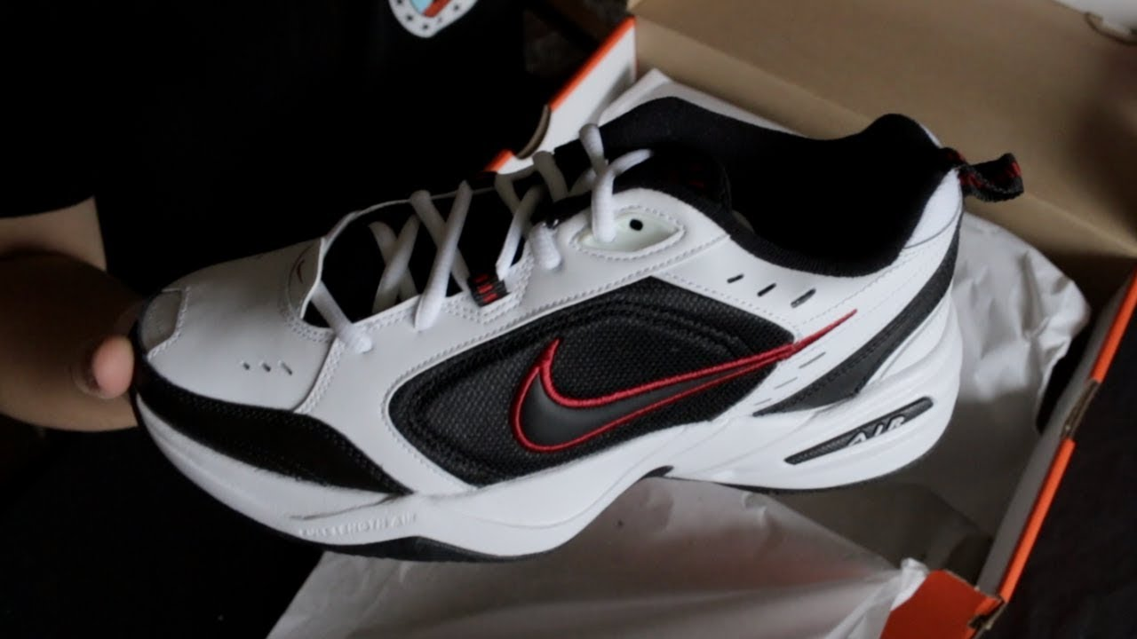 AIR MONARCH IV | WHITE/BLACK | UNBOXING | THE BEST COLORWAY