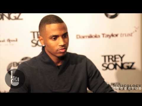 Trey Songz - Interview @ the Damilola Taylor Trust (exclusive)