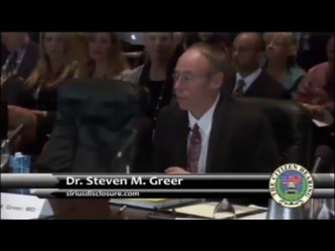 Dr. Steven Greer - CSETI, CE5, and Senior Level Briefings