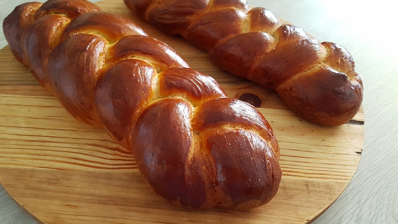 How To Make Challah Bread Challah Bread Recipe Youtube