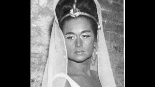 Leyla Gencer & Anselmo Colzani - Ciel mio padre ( Aida - Giuseppe Verdi )