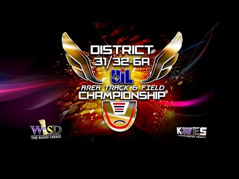 Kwes Live 2019 District 31 32 6a Area Track Meet Championship Youtube