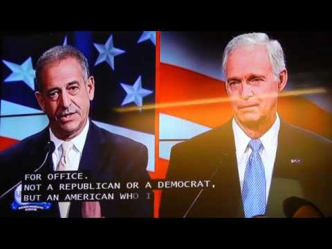 WI US Senate Debate Senator Ron Johnson and Russ Feingold On October 14, 2016 in Green Bay WI