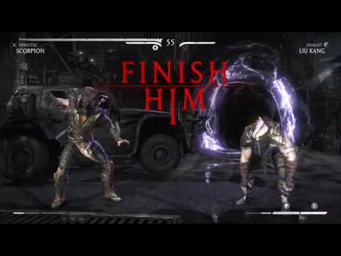 Mortal Kombat X - Two Player Mode - Player vs Player Matches (PS4)