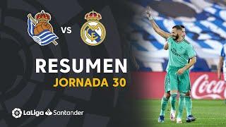 Resumen de Real Sociedad vs Real Madrid (1-2)