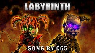 """[SFM FNAF] """"Labyrinth"""" (Song by CG5)"""