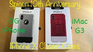 Spigen's 10th Anniversary iPhone Cases! Inspired by Apple's Original iPhone & the iMac G3
