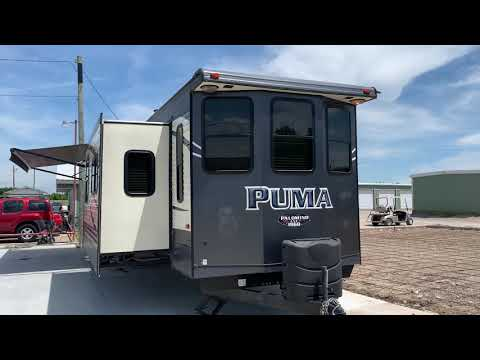 2017 GRAY PUMA 37P (4X4TPUN22HP) , located at 17760 Hwy 62, Morris, OK, 74445, (918) 733-4887, 35.609104, -95.877060 - Photo #0